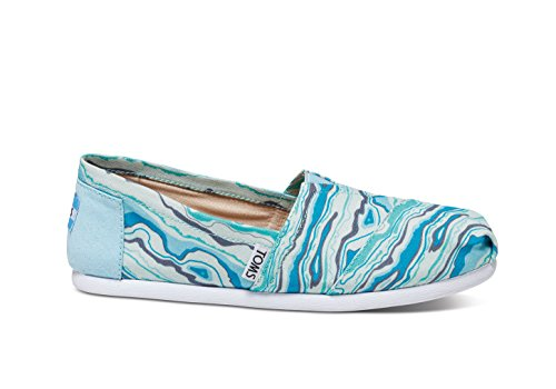 Rock 5 Toms talla 1019B09R Sole negro Canvas Geology 38 Zapatos Rope Turquoise para mujer color TTqrg4OvW