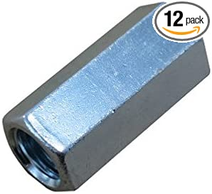 3//8-16 X 4 Zinc Plated Threaded Rod Studs Pack of 12