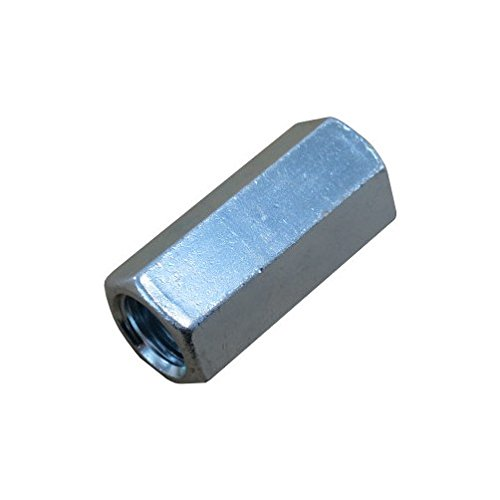 3//4-10 Zinc Plated Threaded Rod Coupling