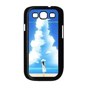 Beautiful Summer Day Illustration Samsung Galaxy S3 9300 Cell Phone Case Black Fantistics gift XVC_146567