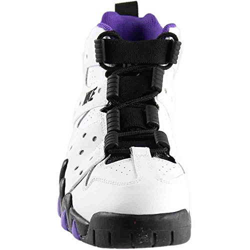 Nike Youth Boys Air Max Cb 94 Sneakers-grigio Bianco / Nero / Viola Puro