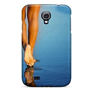 Cute Appearance Cover/tpu YQwfovz6100NiVEN Nice Beach Legs Mid Case For Galaxy S4