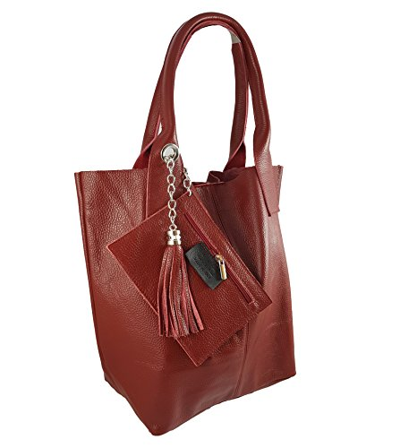 Made Dark Italy in Women's Tote Bag FreyFashion Red dFnfxOgdc