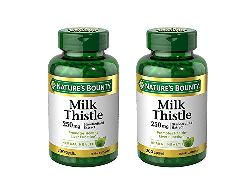 Natures Bounty Thistle Capsules Maven product image