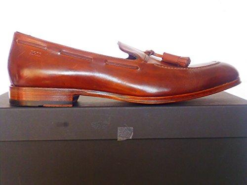 Hugo boss hugo boss chaussures pour homme marron luxiss mocassins cuir véritable taille 10