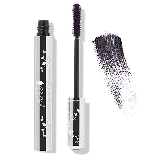 100% PURE Fruit Pigmented Ultra Lengthening Mascara, Blackberry, 0.35oz, Purple Mascara for Natural Lash Extension, Smudge-Proof Mascara for strengthening, thickening and lengthening - Purple ()
