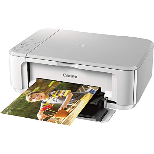 Canon PIXMA MG3620 Wireless All-in-One Inkjet Printer (White) 0515C022AA by CAN0N