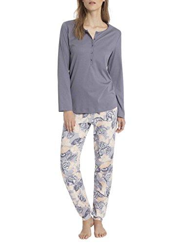 Calida Womans Pajamas Set in 100% Cotton Marla 40233 (387, X-Large) (Cotton Pajamas Calida)