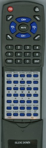 Replacement Remote Control for RCA 276263, 076R0PF021, L26HD35DA, L26HD35D, L32HD35D ()