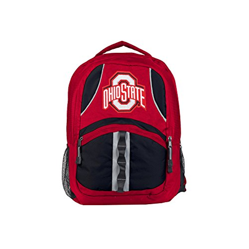 Officially Licensed NCAA Ohio State Buckeyes Captain Backpack - Ohio State Backpack