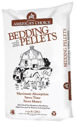 AMERICAN WOOD FIBERS BEDDING PELLETS PinePellet Bedding, 40 lb