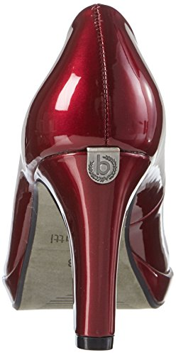 Closed Red Bugatti Toe Pumps Women's Bordo V4964pr6l XwTqqBxEa