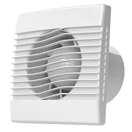 Calidad pared baño cocina extractor ventilador de 120mm con sensor de humedad prim ventilador
