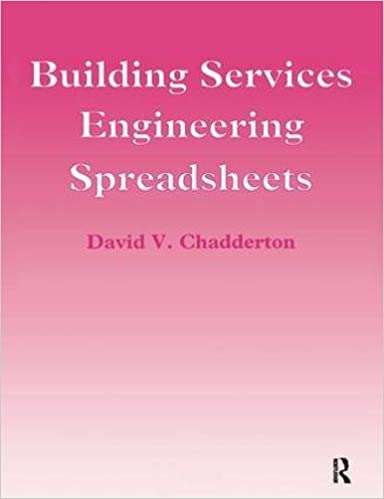 Building Services Engineering Spreadsheets