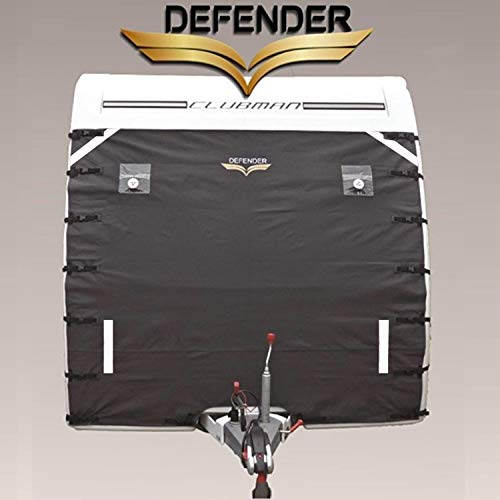 Defender Caravan Universal Front Towing Cover by Protector Covers Accessories | DARK GREY