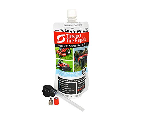 TireJect Tire Sealant Kit - Fix and Prevent Flat Tires (10oz) ()