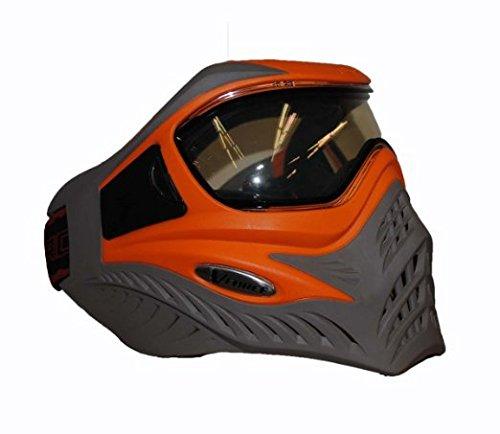GI Sportz V-FORCE Grill Paintball Mask/Goggle - SE - Orange on Taupe