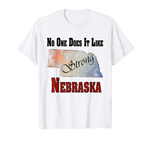 Nebraska No one does it like we do it strong Graphic ()