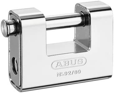 Abus 92/80 B - Candado Monoblock rectangular blindado 80mm blister