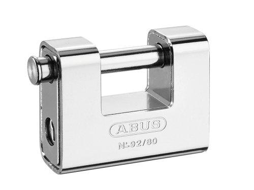 ABUS 92/80 STEEL SHUTTER PADLOCK