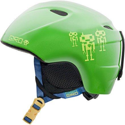 Giro Slingshot Helmet (Green Goggle Bots, Medium/Large), Outdoor Stuffs