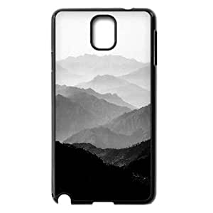 Samsung Galaxy Note 3 Cases Mountain Mist Black and White Collection, Fly [Black]