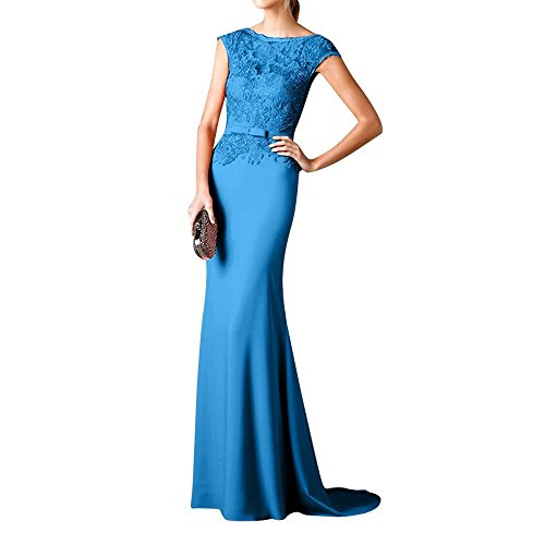 Abendkleider Langes Brautmutterkleider Partykleider Abschlussballkleider mia Blau Brau 2018 Etuikleider Promkleider La 4xStIPwqO