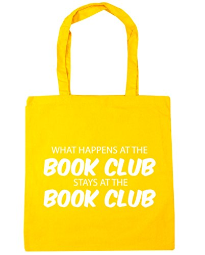 10 at What the 42cm stays Tote Gym at Bag Yellow club Shopping book HippoWarehouse book happens the club Beach x38cm litres EUqSxE1