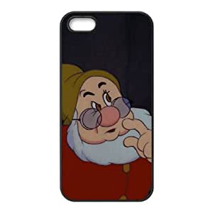 iPhone 4 4s Cell Phone Case Black Disney Snow White and the Seven Dwarfs Character Happy 001 YB4974607