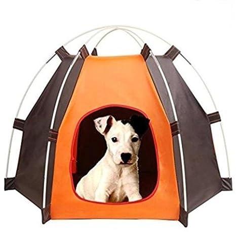 DHD Casa Cama para perros gatos Mascotas Tienda de campaña Carpa: Amazon.es: Productos para mascotas