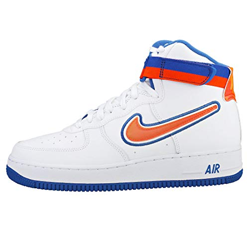 Bianco Uomo white Sport Royal Force team Nike Da game '07 Air 100 1 Reale High blu Fitness Scarpe Lv8 arancione Orange 5vYqYPHZxn
