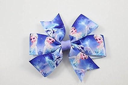 Color azul y de pinza de mampara con diseño de princesas de Disney para el cabello Barratte: Amazon.es: Belleza