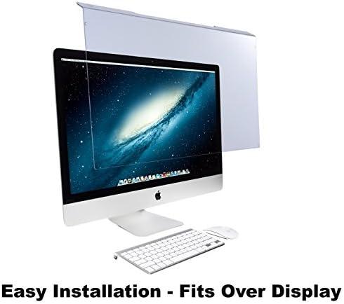 "EYES PC Blue Light Screen Protector Panel for Apple iMac 27″ Diagonal LED Monitor (W 25.31″ X H 15.08""). Blue Light Blocking approximately 100% of Hazardous HEV Light. Reduces PC Eye Strain."