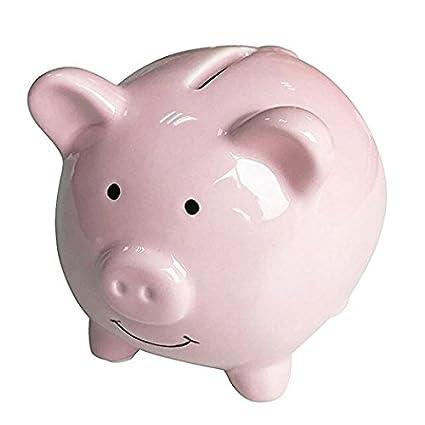 amazon com geelyda pink piggy bank small piggy banks for girls boys
