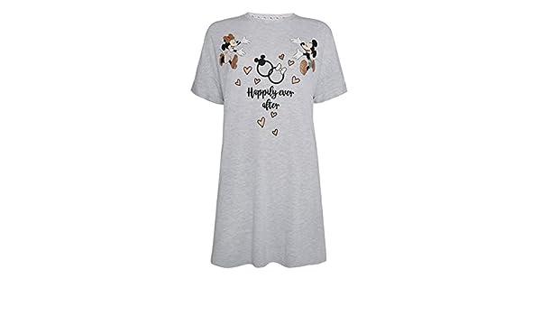 Primark - Camisón - para Mujer Gris Gris XL: Amazon.es: Ropa y accesorios