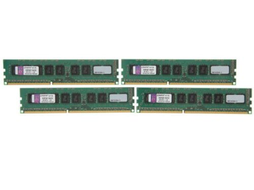Kingston Technology ValueRAM 32GB Kit of 4 (4 x 8 GB) DDR3 1600MHz PC3 12800 ECC CL11 DIMM with TS Server Workstation Memory KVR16E11K4/32, Best Gadgets