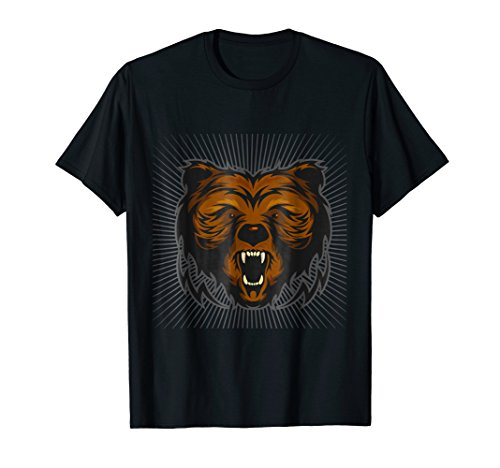 (Raw Power - Grizzly Weight Lifting Tee)