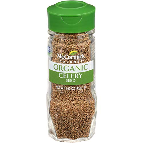 McCormick Gourmet Organic Celery Seed, 1.62 oz (Dill Frontier Seed)