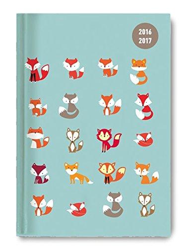 Collegetimer Pocket Fox 2016/2017 - Schülerkalender A6 - Weekly - 224 Seiten
