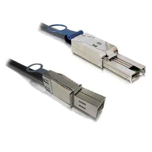 1M ext 30AWG mini-SAS SFF-8088 to 4x ext mini-SAS 6G cable SFF-8088