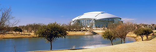 (Posterazzi PPI149923S Cowboy Stadium at The Waterfront Dallas Texas USA Poster Print, 27 x 9, Varies)