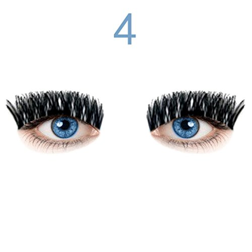 Vegas Vixen Costume (DEESEE(TM) NEW Ultra-thin 0.4mm Magnetic Eye Lashes 3D Reusable False Magnet Eyelashes Extension (D))
