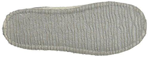 Giesswein Women's Naundorf Open Back Slippers, Grey Grey (Kiesel)
