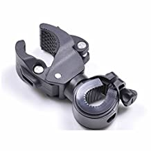 GOOTRADES Cycling Mount Holder for Flashlight Torch Clip Clamp 360° Rotation