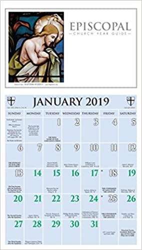 episcopal church year guide kalendar 2019