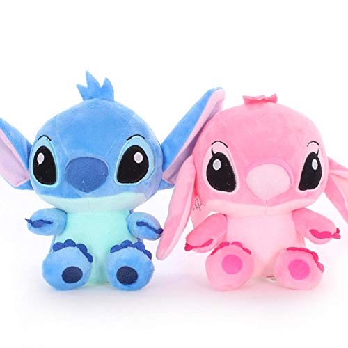 plush bear 2pcs 18cm High Quanlity Stitch Plush Toys For Kids Stuffed Animals Anime Lilo And Stitch Creative Valentine