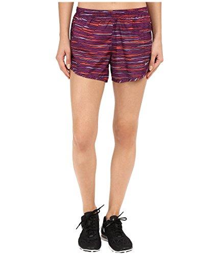 Nike Women's Equilibrium Modern Tempo Running Short Cosmic Purple/Reflective Silver Shorts SM X 3
