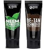 Beardo Neem Facewash and De-Tan Facewash Combo