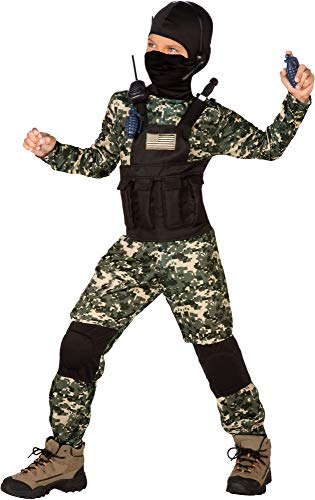 US Navy Seal SAS Anti-Terror Unit Classic Childs
