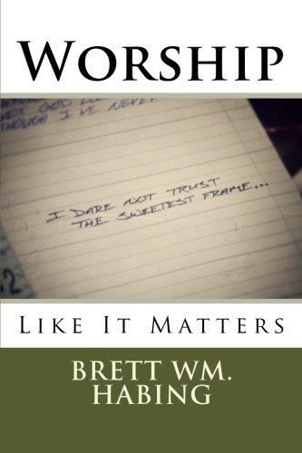 Worship Like It Matters: I Dare Not Trust the Sweetest - Trust Frame